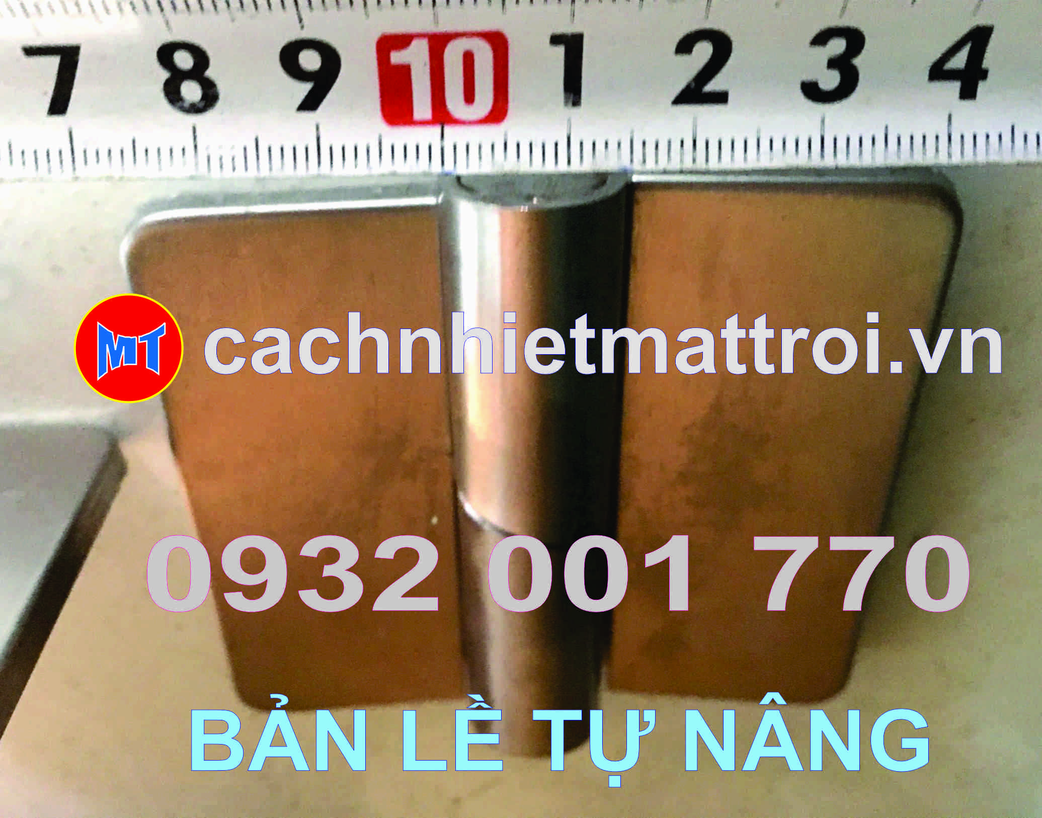 hình 1 BẢN LỀ TỰ NÂNG INOX 304 - BẢN LỀ CỬA PANEL PHÒNG SẠCH