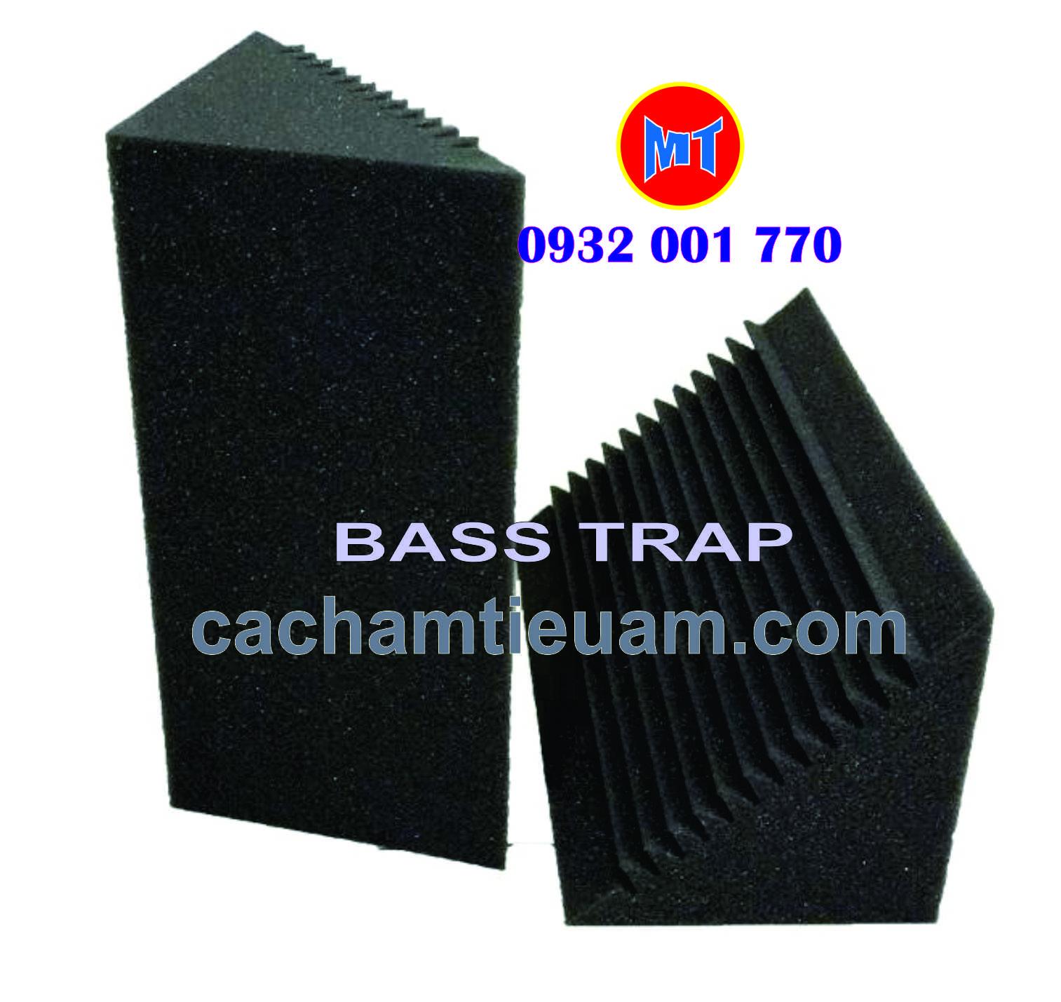 hình 1 Bass trap studio foam - Mút tiêu âm góc