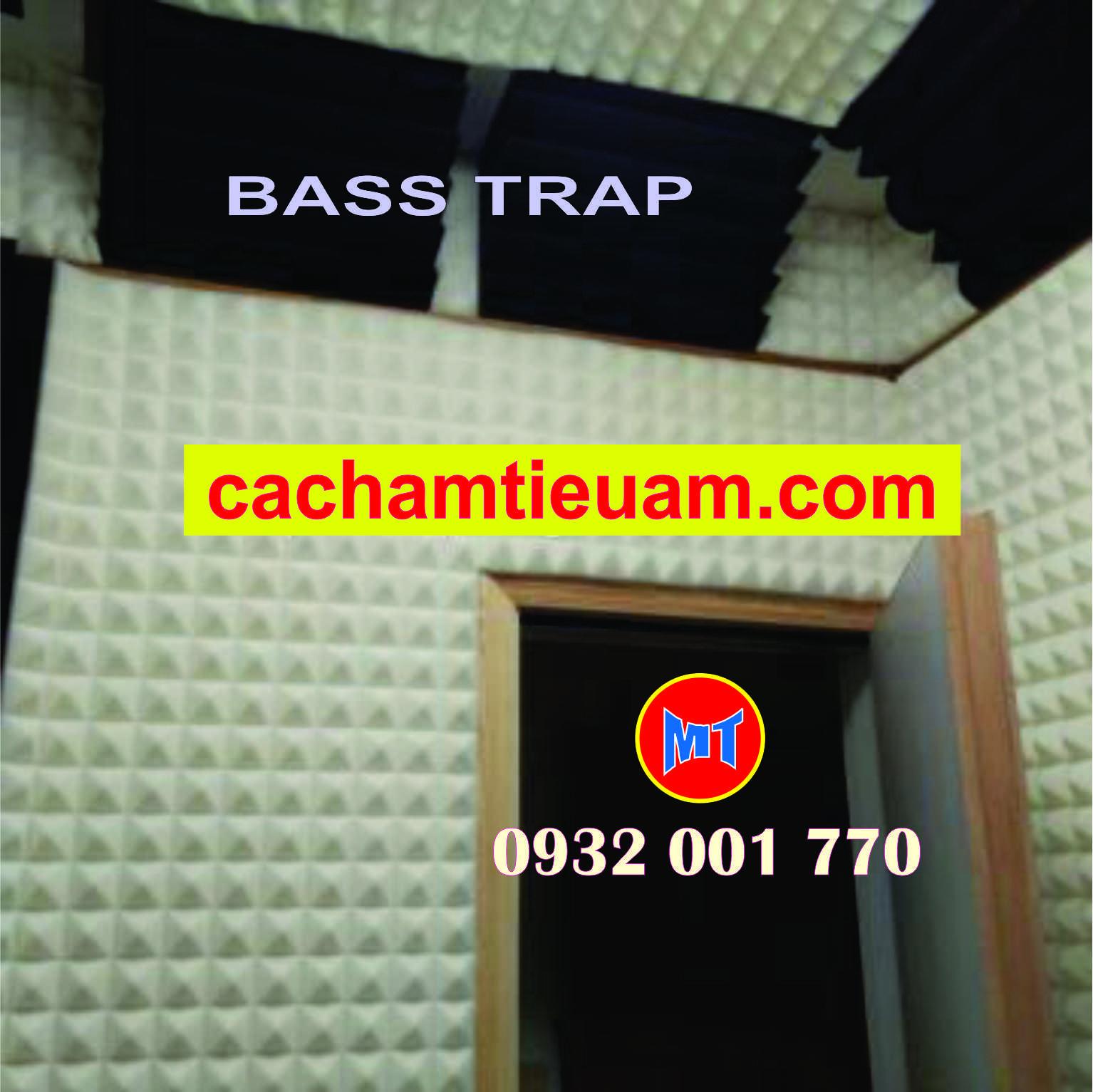 hình 3 Bass trap studio foam - Mút tiêu âm góc