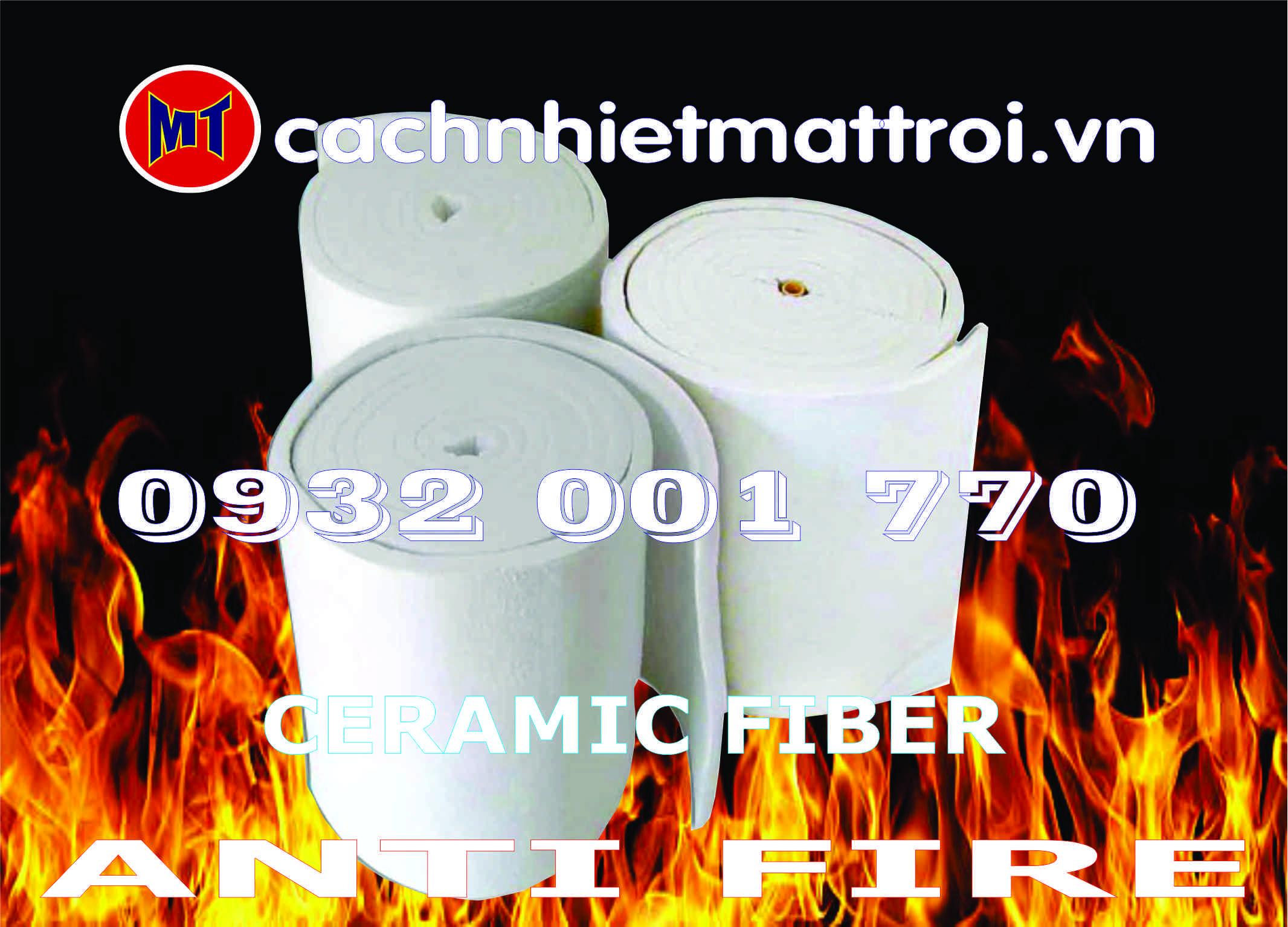 hình ảnh sản phẩm Bông chịu lửa - Bông sợi Gốm - Ceramic Fiber