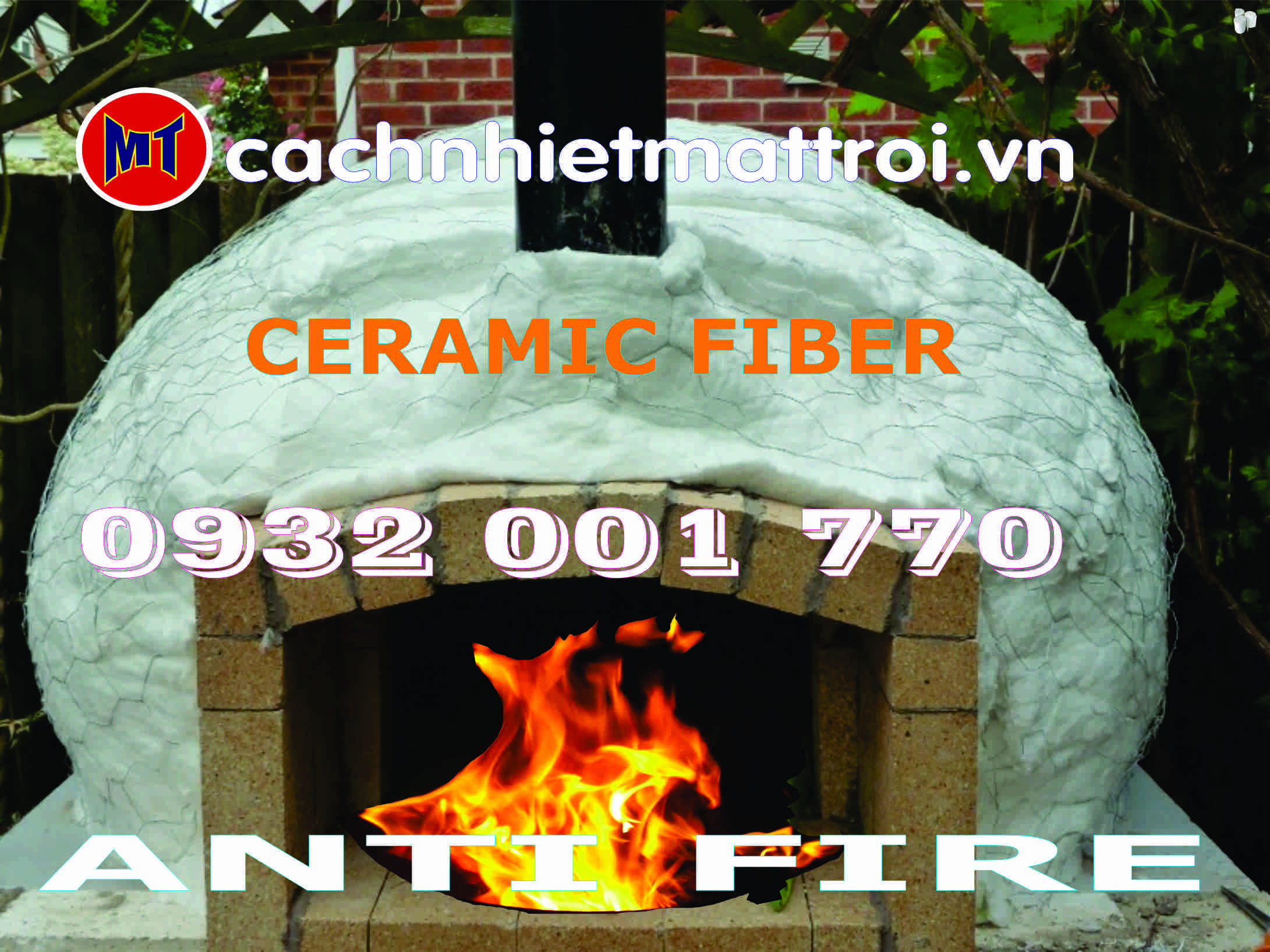hình 3 Bông sợi Gốm cách nhiệt - Ceramic Fiber