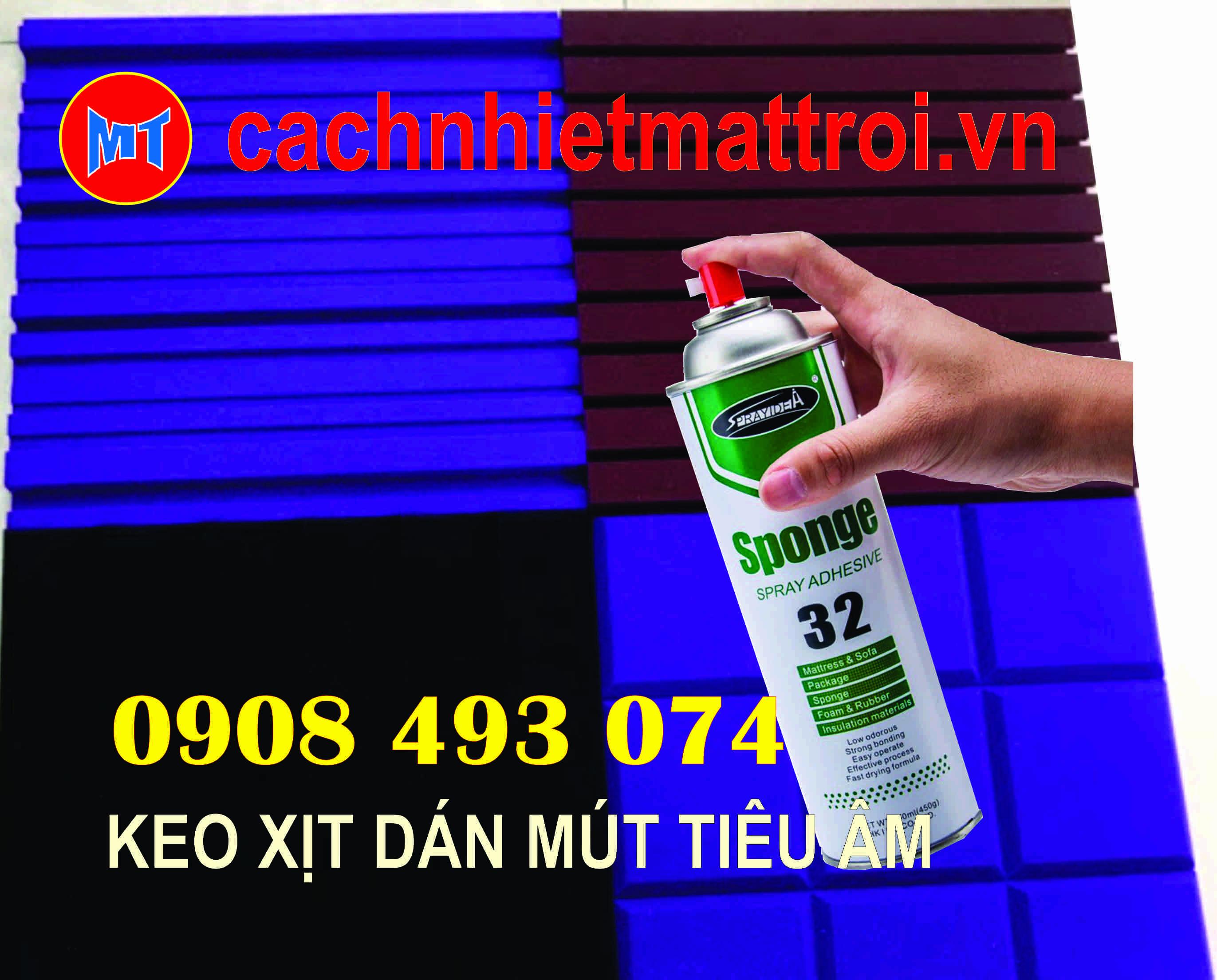 hình ảnh sản phẩm KEO XỊT KHÔNG MÙI DÁN ĐA NĂNG SPRAY 32 SPONGE - KEO PHUN CẦM TAY