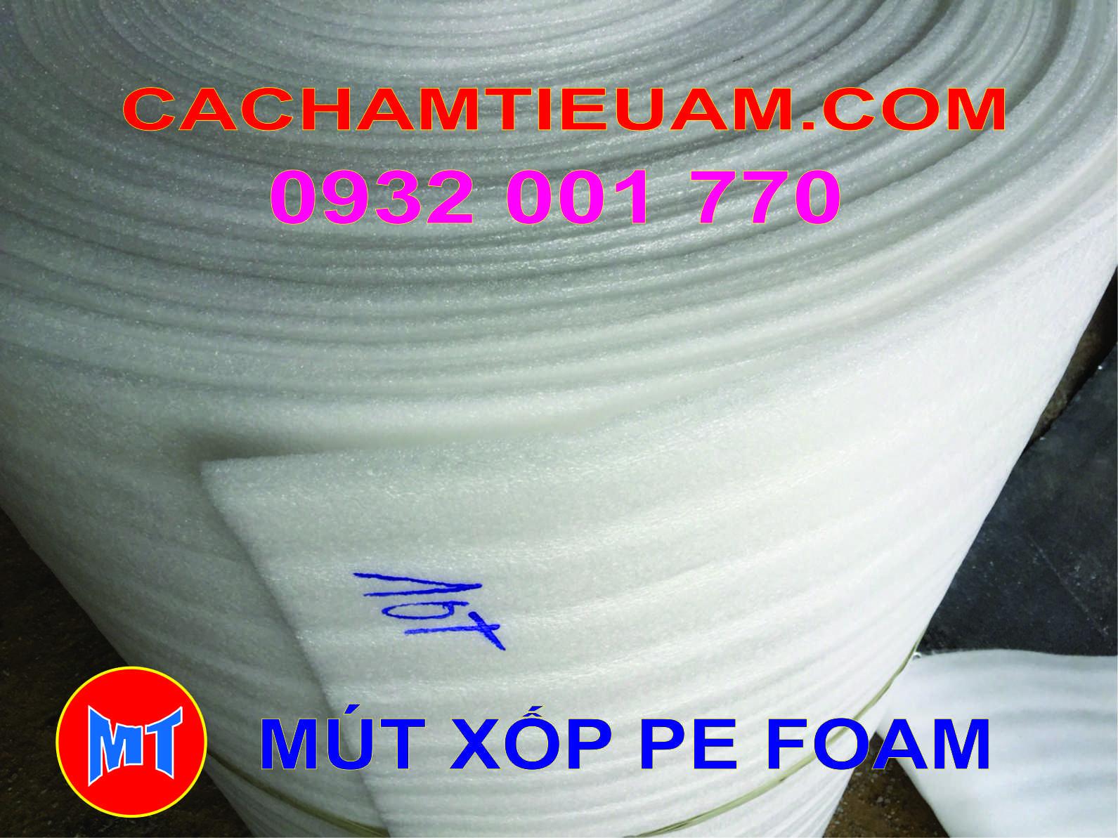 hình 1 Màng mút xốp pe foam bọc lót sản phẩm dày 10mm - 10T