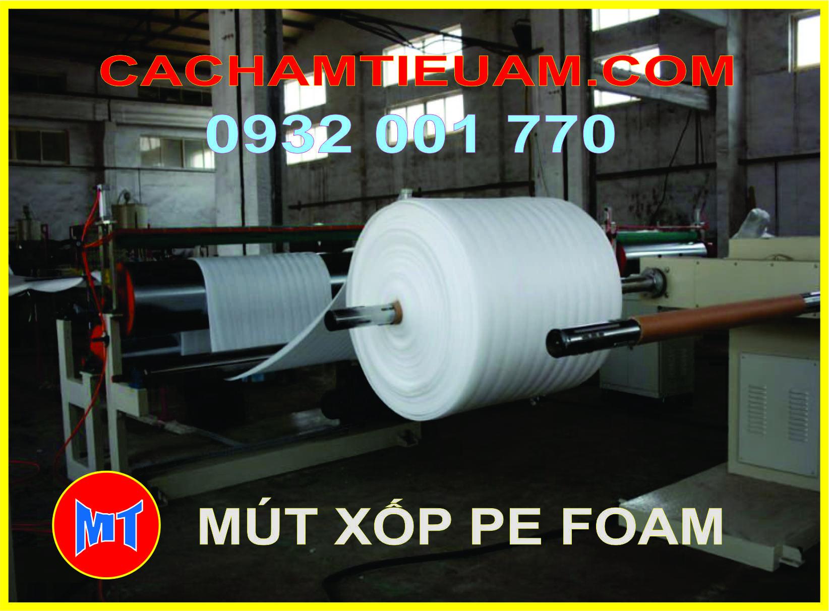 hình ảnh sản phẩm Màng PE foam bọc gói hàng dày 2mm - 2T