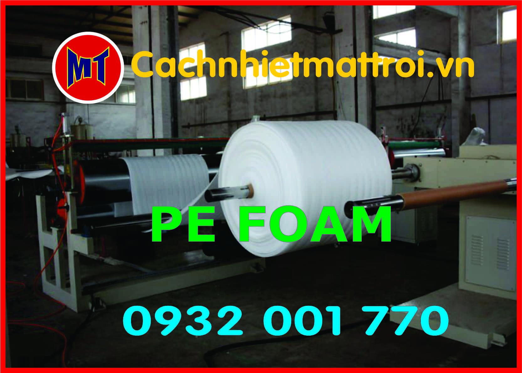 hình 2 Màng PE foam bọc, gói hàng dày 3mm - 3T