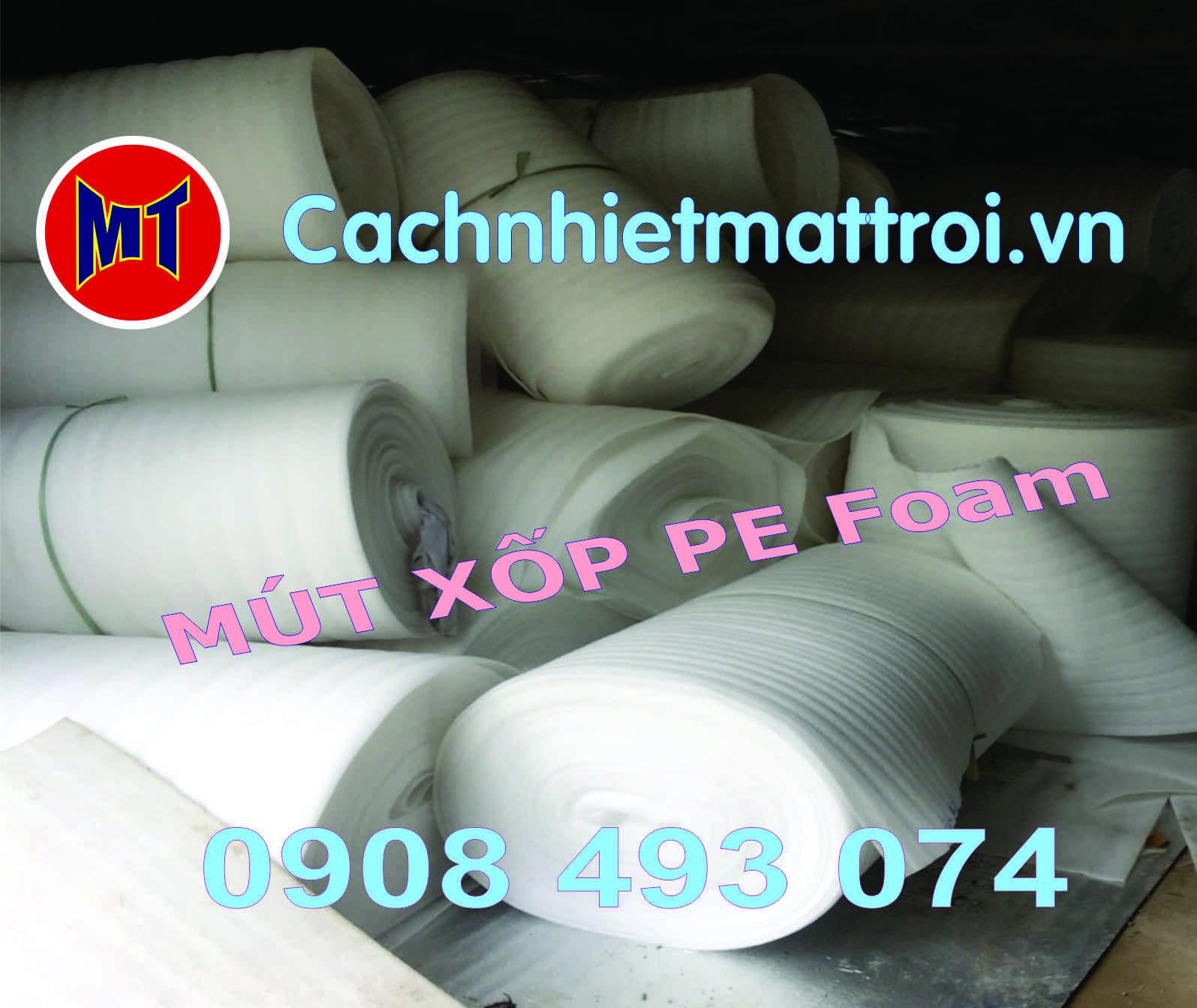 hình ảnh sản phẩm Màng PE foam đóng gói hàng dày 1mm - 1T