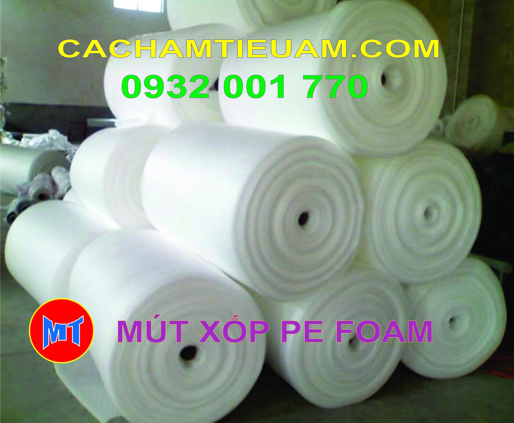 hình 3 Màng PE foam đóng gói hàng dày 1mm - 1T