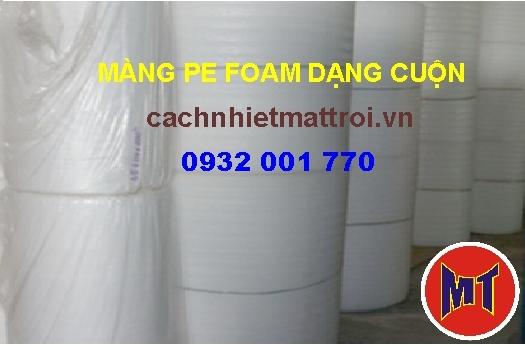 hình 3 Màng PE foam trắng dày 0.5mm - 0.5T dùng bọc lót , gói hàng