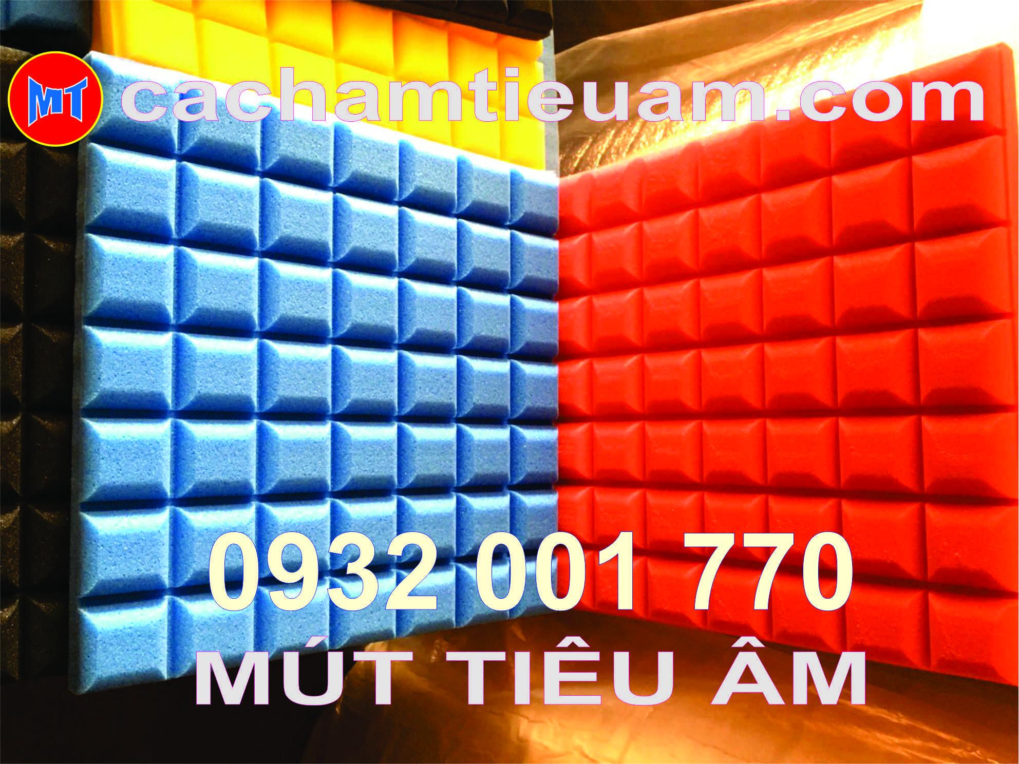 hình 1 MÚT TIÊU ÂM Ô VUÔNG MINI - STUDIO FOAM