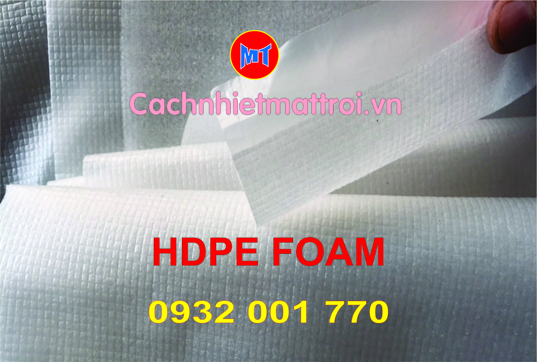 hình 3 Mút xốp HDPE foam - PE foam HD