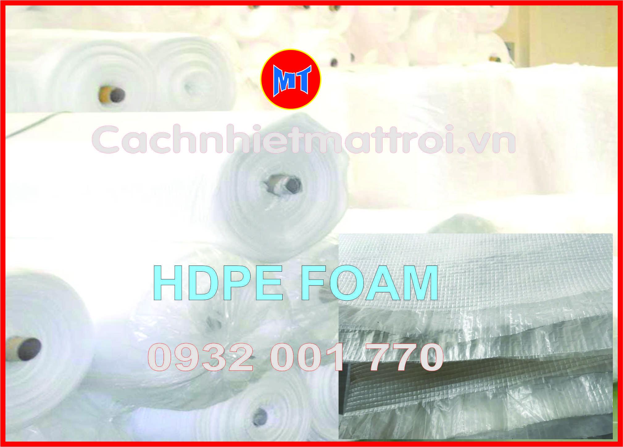 hình 2 Mút xốp HDPE foam - PE foam HD