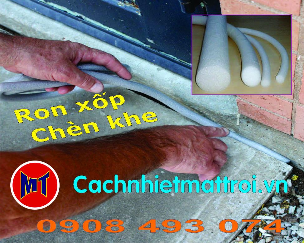 hình 2 PE Foam Rod đường kính 10mm- Ron mút xốp chèn khe phi 10mm