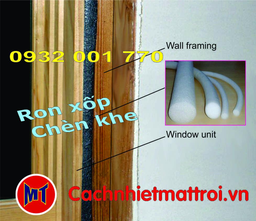 hình ảnh sản phẩm PE Foam Rod đường kính 10mm- Ron mút xốp chèn khe phi 10mm