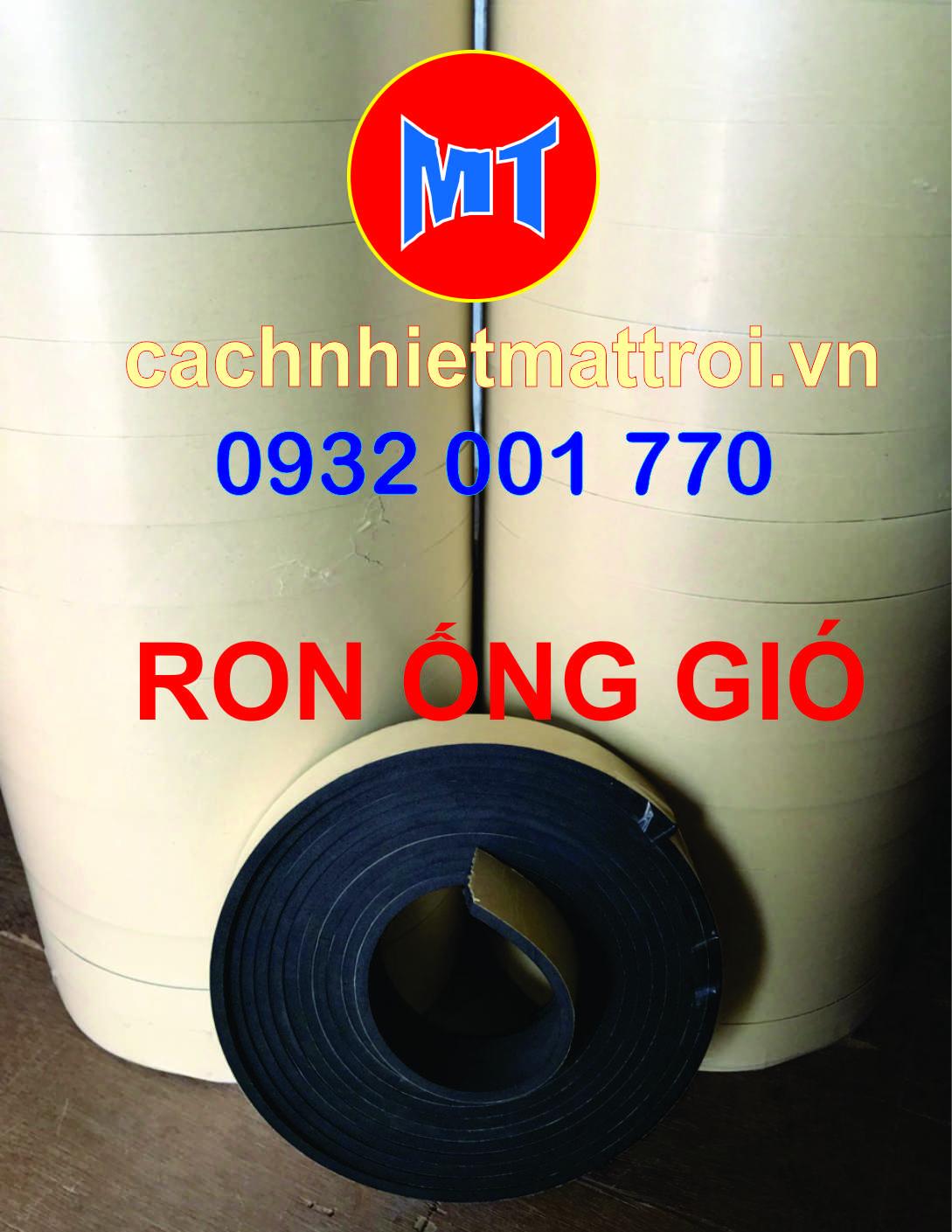 hình 1 Ron ống gió, ron mút eva, ron cao su non ống gió.