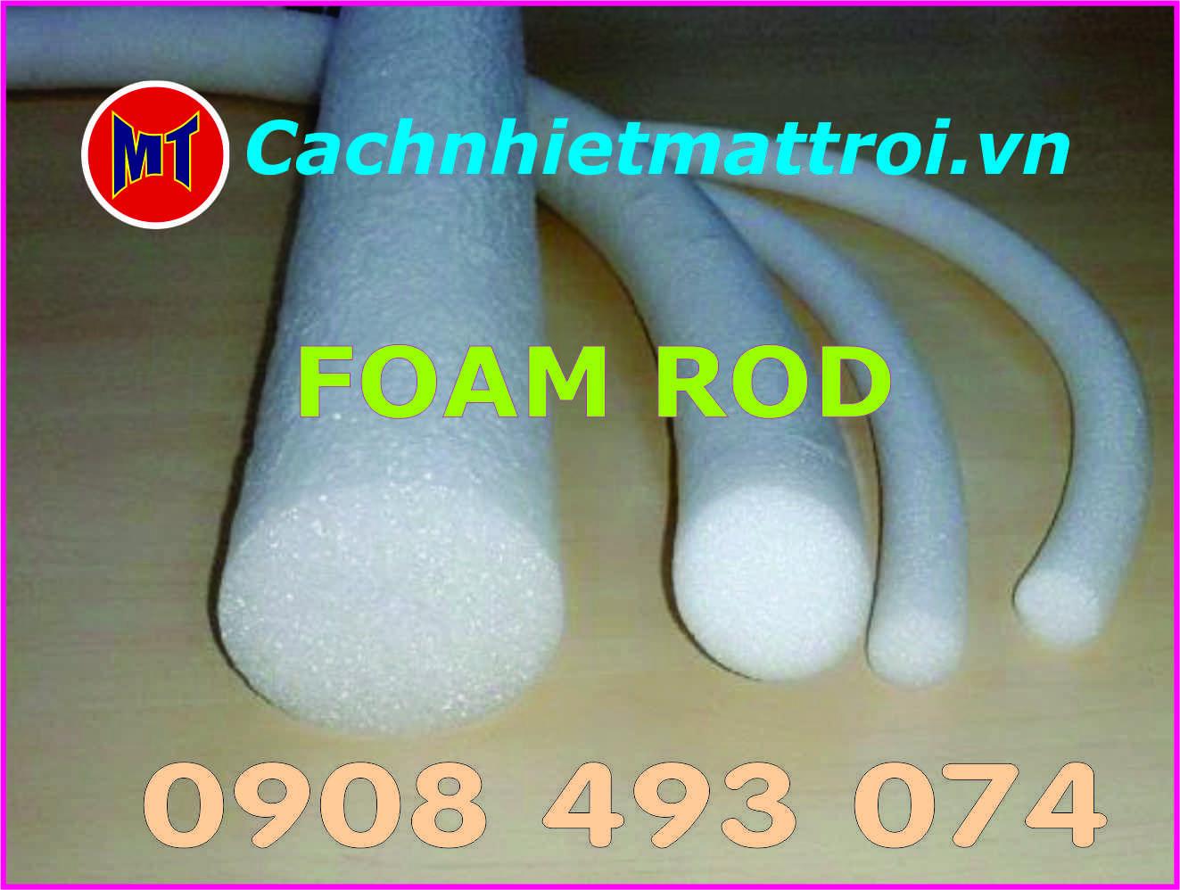hình 3 Ron Rod PE Foam Đường kính 8mm - Ron mút xốp tròn chèn khe phi 8mm
