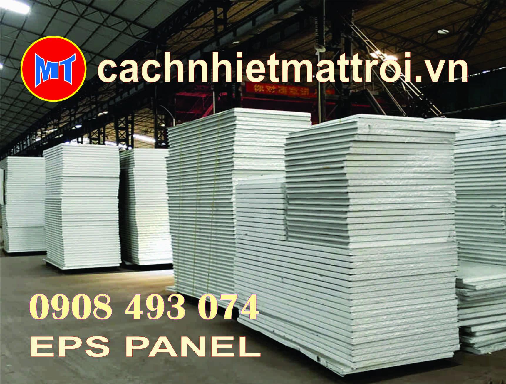hình ảnh sản phẩm Panel EPS - Panel Mốp xốp cách nhiệt