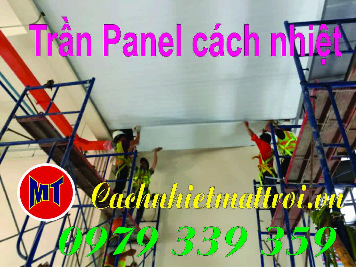 hình 3 Sandwich panel PU - Panel phòng sạch