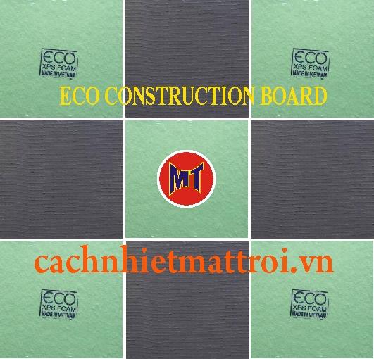 hình 1 Tấm Eco Foam cách nhiệt cách âm Tường Sàn Trần (ECO CONSTRUCTION BOARD )