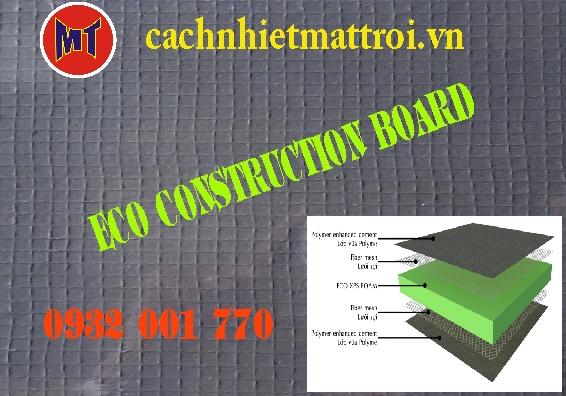 hình ảnh sản phẩm Tấm Eco Foam cách nhiệt cách âm Tường Sàn Trần (ECO CONSTRUCTION BOARD )