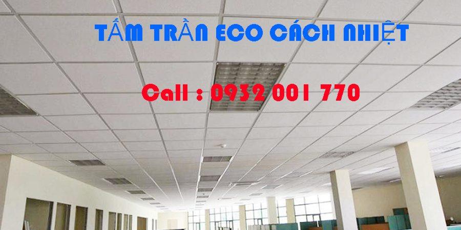 hình 1 Tấm trần ECO chống nóng cách nhiệt