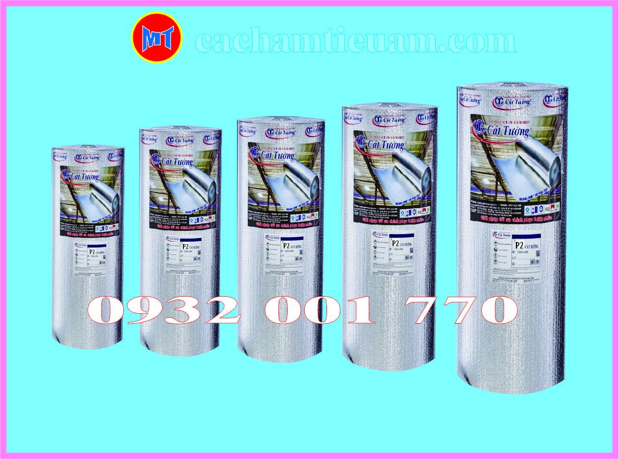hình 1 Túi khí cách nhiệt Cát Tường 2 mặt bặc - Tấm cách nhiệt P2