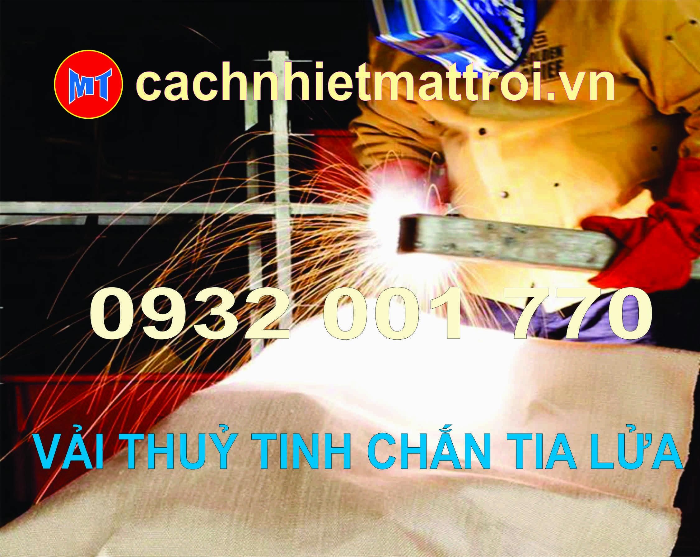 hình ảnh sản phẩm VẢI BẠT CHỐNG CHÁY SỢI THUỶ TINH