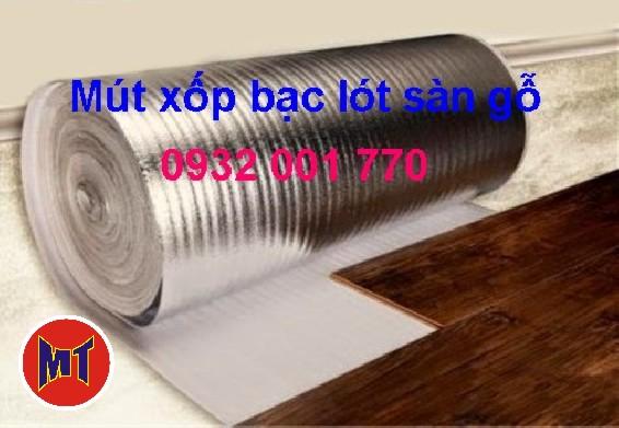 hình 1 Xốp bạc lót sàn gỗ - PE OPP  - Foam bạc